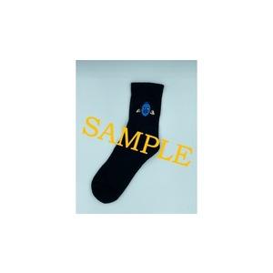 ジャズ靴下(黒) designed by Shu